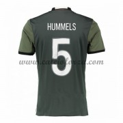 Maglie Calcio Germania Euro 2016 Hummels 5 Seconda Divisa..